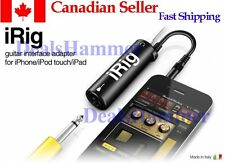 irig IK multimedia amplitube for ipad, iphone Retail packag latest model/Canada