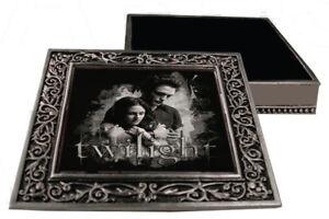 *NEW* Twilight Eclipse Metal Pewter Jewellery Box - Edward & Bella