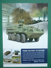 10/2007 PUB GENERAL DYNAMICS LAND SYSTEMS STRYKER LAV MILITARY VEHICLES AD