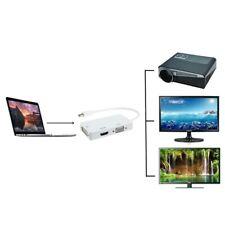 Thunderbolt/Mini Display Port/DP to VGA/HDMI/DVI Adapter For Macbook Pro Air Mac