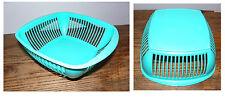 CORBEILLE A PAIN EN PLASTIQUE  VINTAGE DES ANNEES 70 plastic bread basket