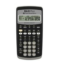 Texas Instruments BAII Plus Financial Calculator /GENUINE
