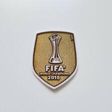 FC Barcelona 2015 UEFA World Champions gold patch Messi Suarez De Jong