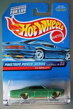 Hot Wheels 1:64 Scale 1999 Pinstripe Power Series '65 IMPALA