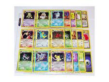 Pokemon 1ST EDITION COMPLETE TEAM ROCKET SET 83/82 Dark Charizard Blastoise NM/M