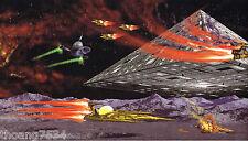 STAR WARS Theme Spaceship Flying Saucer Space Kid Boy Wallpaper Wall Border