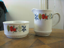 Beautiful Meakin jug and bowl set, very good used condition