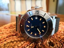 Paul Picot Le Plongeur No. 1 Saphirglas 38 mm Top-Zustand Diver 300m Swiss Made