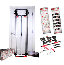 Tower 200 TM Door Gym Exercise Fitness Full Body Gym with Straight Bar NEW