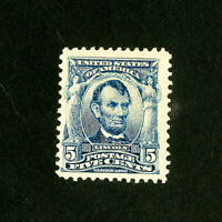 US Stamps # 304 VF OG Hinged