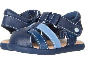 UGG I Kolding Infant Navy Closed Toe Sandal Size 6/7 Large 18-24 Months NWB