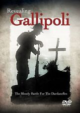 Revealing Gallipoli The Bloody Battle For The Dardanelles New & Sealed DVD UK