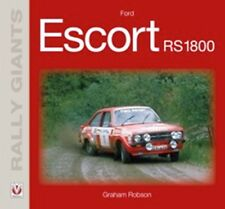 Rally Giants Ford Escort RS1800 car book paper