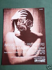 MANIC STREET PREACHERS - MAGAZINE CLIPPING / CUTTING- 1 PAGE ADVERT
