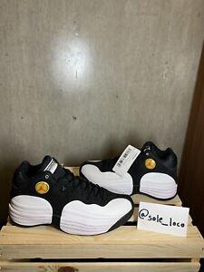 Air Jordan Jumpman Team 1 Black White Basketball Shoes Men's NEW Nike