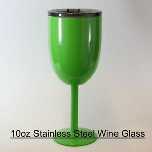 Powder Coated Drinkware. Steel Tumblers, Wine, etc. Choose colors and size.