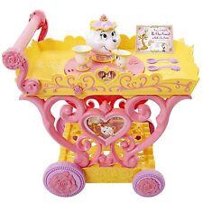 Princess Belle Musical Tea Party Cart Disney Be Our Guest Belle Mrs. Potts NIB