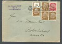 Kö1 /14 - 1942 12+4x3 Pfg.Hindenburg Wien 76** SST * Berlin