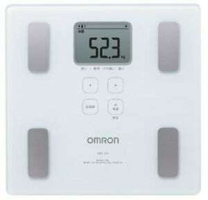New! Omron Weight Scale Body Composition Meter Body Scan White HBF... From Japan