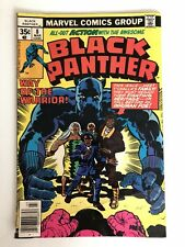 Marvel Black Panther #8, Way of the Warrior, 1978. Jack Kirby. (G/VG)