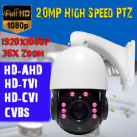 36X Zoom 2MP 1080P HD-AHD/TVI/CVBS 4'' MINI CCTV High Speed PTZ Dome Camera