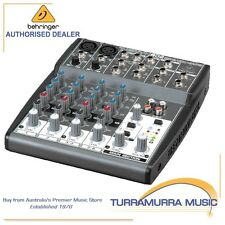 Behringer Xenyx 802 Premium 8-Input 2-Bus Audio Mixer