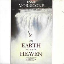"""Ennio Morricone On Earth As It Is In Heaven UK 45 7"""" single +Picture Sleeve"""
