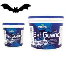Hydroponics VitaLink Bat Guano 0.7 3.5kg Organic Fertiliser Grow Media Additives