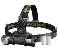 Nitecore HC30 1000 Lumens Compact LED Headlamp - Free 2x CR123A Batt