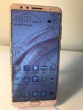 Huawei Nova 2S HW1-AL00 64GB Rose Gold (Unlocked) Smartphone -With Screen Cracks