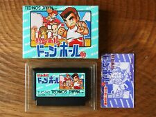 Super Dodge Ball / Famicom Kunio Kun nekketsu koukou fc nes cib box japan