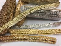 Indian Ethnic Lace Colorful Trim Ribbon Sewing Craft Wedding Sari Border