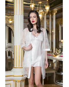 Women Top Quality Bridal Satin Nightdress and Lacy Gown  European Products