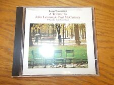 KLAUS WUNDERLICH - A TRIBUTE TO JOHN LENNON & PAUL MCCARTNEY CD