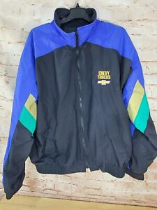 VTG 1995 Swingster Brickyard 400 NASCAR Jacket Official Pace Truck Made in USA