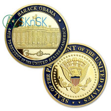 Seal of the United States the 44th President Barack Obama Challenge Coin