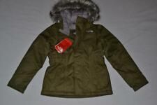 THE NORTH FACE KIDS GIRLS GREENLAND DOWN PARKA XXS 5  OLIVE GREEN  AUTHENTIC