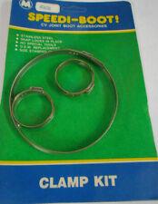 Dorman 03636 Stainless Steel CV Joint Boot Clamp Kit GM AMC 31.6mm 34.6mm 99.5mm