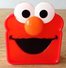 Sesame Street Elmo Sandwich Sav'r Saver Storage Container Lunch Crayon Box