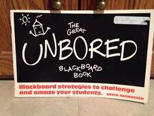 THE GREAT UNBORED BLACKBOARD BOOK - Great Activity Book for Teachers!