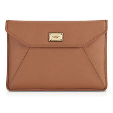"Michael Kors Genuine Leather Sleeve/Pouch Case for 13"" Macbook Air - Luggage"