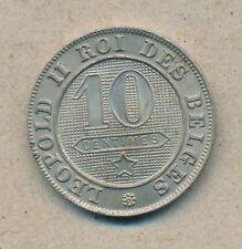 België/Belgique 10 ct. Leopold II 1895 Fr Morin 238 (134763)