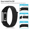 Replacement Sport Nylon Band Strap Wristband Loop For Fitbit Charge 3 4 Bracelet