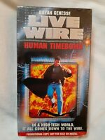 Live Wire: Human Timebomb (VHS 1996) RARE Promo SCREENER Demo Copy (OOP)HTF MINT