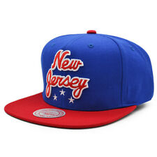 New Jersey Nets HWC HERITAGE Snapback Mitchell & Ness NBA Hat - Royal/Red