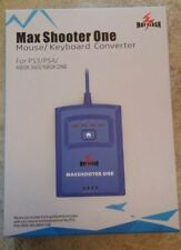 Mayflash Max Shooter One Xbox one 360 PS3 PS4 Keyboard & Mouse Converter NEW