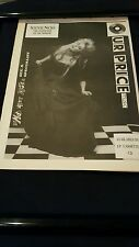 Stevie Nicks The Other Side Of The Mirror Rare U.K. Promo Poster Ad Framed!