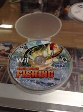SEGA BASS FISHING - Wii - DISC ONLY