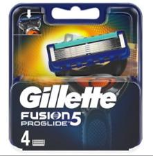 Gillette FUSION PROGLIDE 4 PCS GENUINE 100%  Men's Replacement Razor Blades