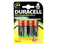 10 2450 de piles rechargeables DURACELL AA 2450mAh de mAh 1.2V NiMH nouveau PACK scellé